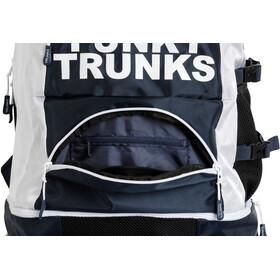 Funky Trunks Elite Squad - Mochila natación - blanco/negro